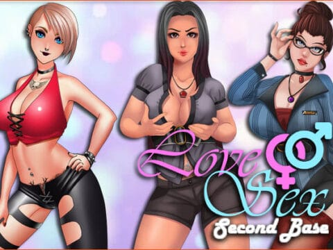 Cover Love and Sex Second Base
