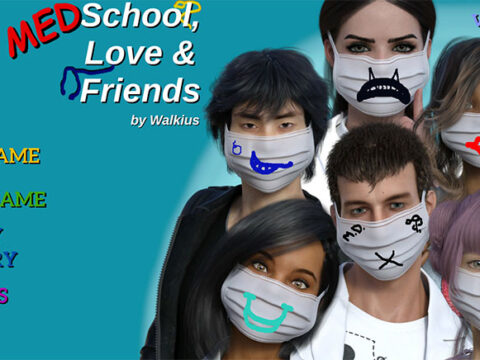 Cover Medschool, Love and Friends